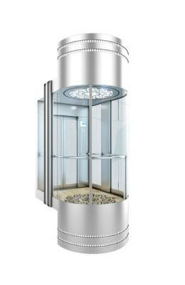 Лифт панорамный sgl-17g-08
