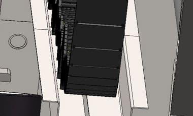 Сопровождающий кабель наклонного лифта
